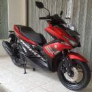 Cash Kredit Yamaha Aerox 155 VVA Standar 2018 Red Edition.