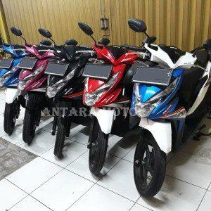 Promo Cash Back 200 Ribu Untuk Pembelian Honda New Beat FI 2018 Khusus Kredit.