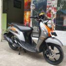 Cash Kredit Motor Bekas Tahun 2018 Yamaha Fino 125 Premium Blue Core