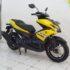 Yamaha Aerox VVA 155 Tahun 2017 Kuning Bergaransi Cash / Kredit