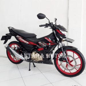 Kredit/Cash Motor Bekas Tahun 2018 Suzuki Satria Fu, low kilometer.