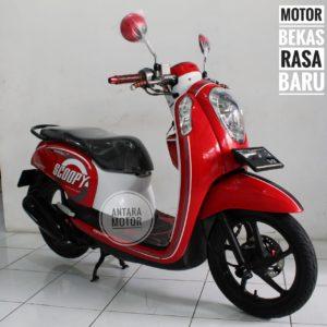 Honda Scoopy Fi 2014 Cash Kredit Bergaransi