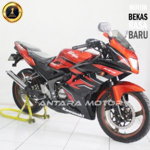 Kawasaki Ninja RR 2014 Orange, Cash Kredit Cover Jabodetabek