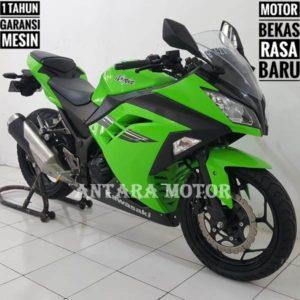 Kredit/Cash Kawasaki Bekas Ninja 250 FI 2016, Green Edisi.